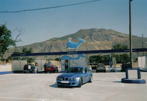 La Ballena Azul: lavado a alta presión rápido, económico y ecológico.