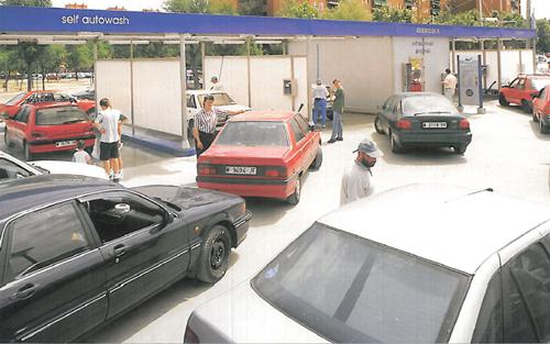 La Ballena Azul: centros de lavado abiertos 24 horas.