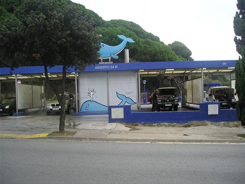 La Ballena Azul: Lave su vehículo sin dañar su carrocería.